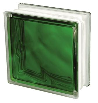 Pustak szklany luksfer 1919/8 Wave Brilly Emerald Seves Basic