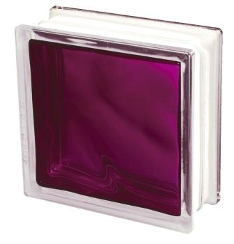 Pustak szklany luksfer 1919/8 Wave Brilly Ruby Seves Basic