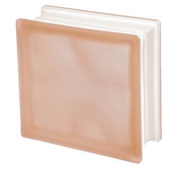 Luksfer pustak szklany Q19 Rosa O Sat Seves Design